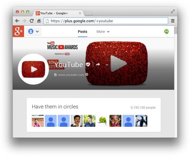 Google+ Vanity URLs Demo